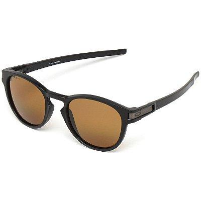 Óculos de Sol Oakley Latch Matte Black W/ Bronze Polarized