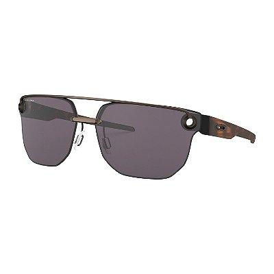 Óculos de Sol Oakley Chrystl Satin Toast W/ Prizm Gray