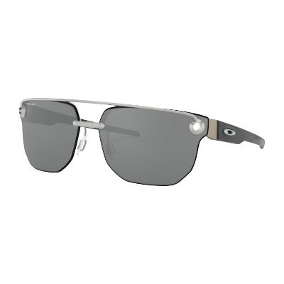 Óculos de Sol Oakley Chrystl Satin Chrome W/ Prizm Black