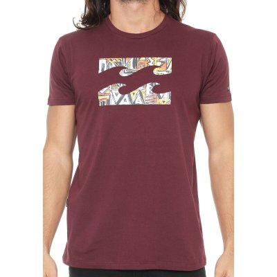 Camiseta Billabong Access Border IV Vinho