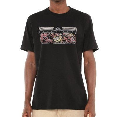 Camiseta Quiksilver The Jungle Preta