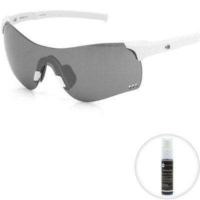 Óculos de Sol HB Quad F Pearled White l Silver
