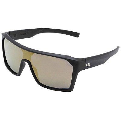 Óculos de Sol HB Carvin 2.0 Matte Black l Gold Chrome