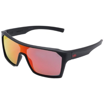 Óculos de Sol HB Carvin 2.0 Matte Black l Red Chrome