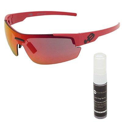 Óculos de Sol HB Highlander 3B Fire Red l Chrome