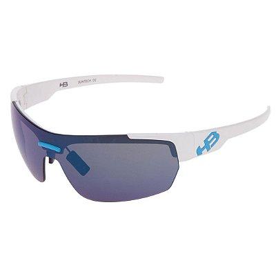 Óculos de Sol HB Highlander 3R White Blue l Chrome