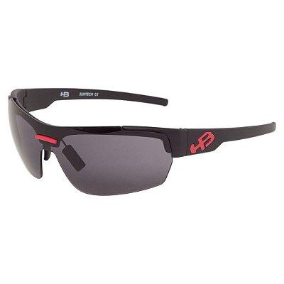 Óculos de Sol HB Highlander 3R Matte Black l Red Gray