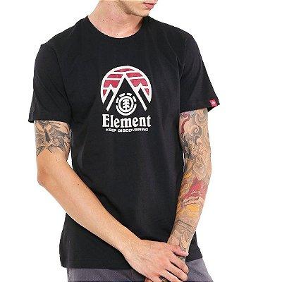 Camiseta Element Tri Tip Preta