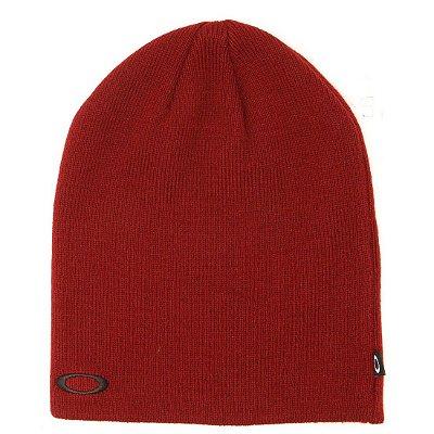 Gorro Oakley Fine Knit Hat Vermelho