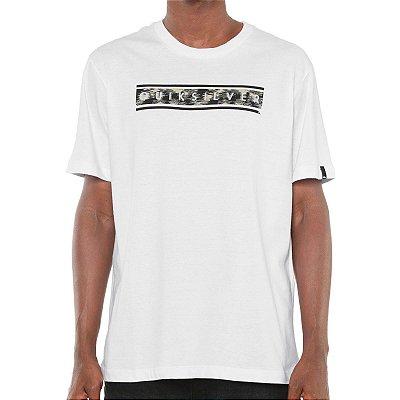 Camiseta Quiksilver Daily Camo Branca