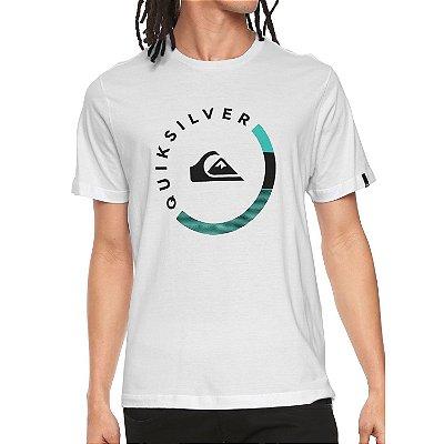Camiseta Quiksilver Slab Session Branca