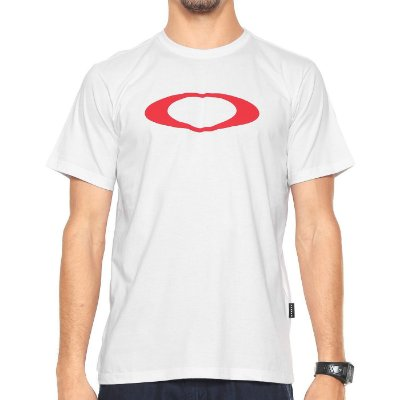 Camiseta Oakley O-Ellipse Branca