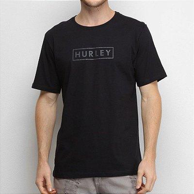 Camiseta Hurley Silk Boxed Benzo Preta