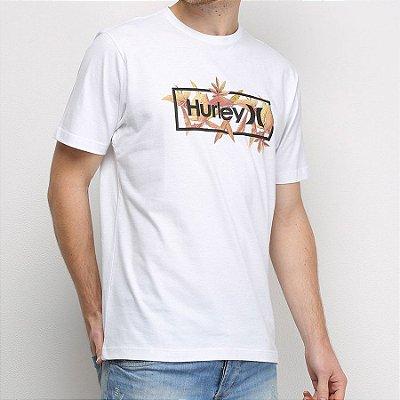 Camiseta Hurley Silk Brotanical Branca