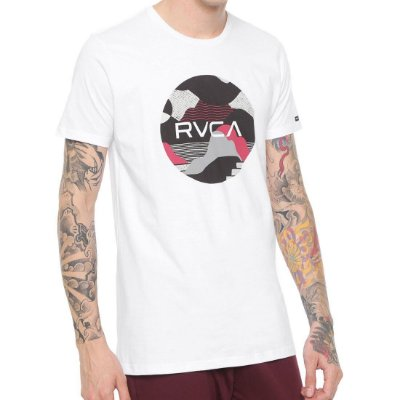Camiseta RVCA Outlook Trunk Branca