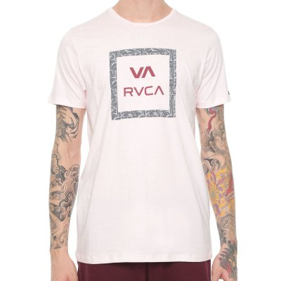 Camiseta RVCA VA All The Ways Rosa Claro