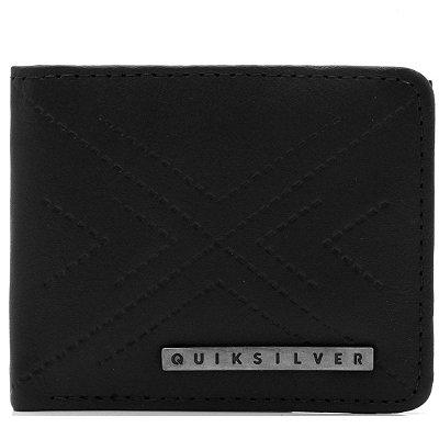 Carteira Quiksilver Geo Wallet II Preta