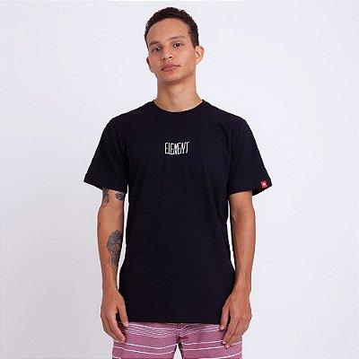 Camiseta Element Oversize Preta
