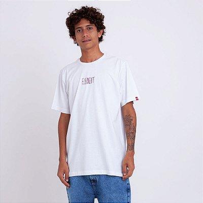 Camiseta Element Oversize Branca