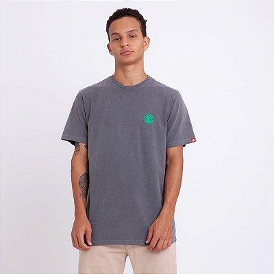 Camiseta Element Minimal Logo Cinza Escuro