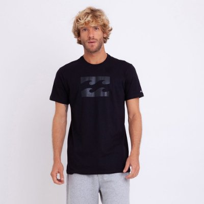 Camiseta Billabong Team Wave II Preta