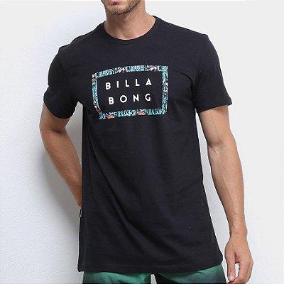Camiseta Billabong Diecut II Preta