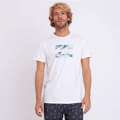 Camiseta Billabong Team Punta Roco Off White