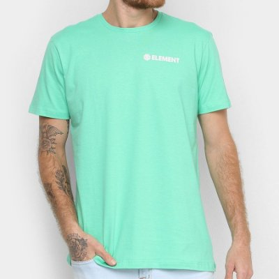Camiseta Element Blazin Chest Verde Neon