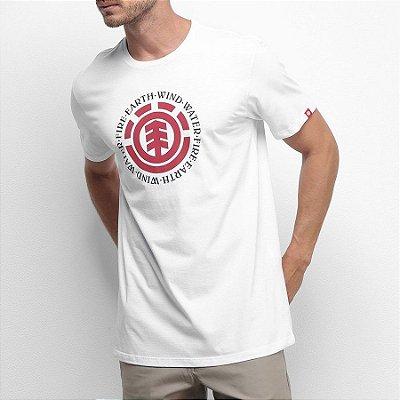 Camiseta Element Seal Branca