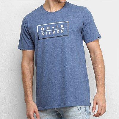 Camiseta Quiksilver Clued Up Azul