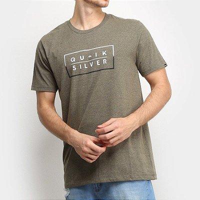 Camiseta Quiksilver Clued Up Verde