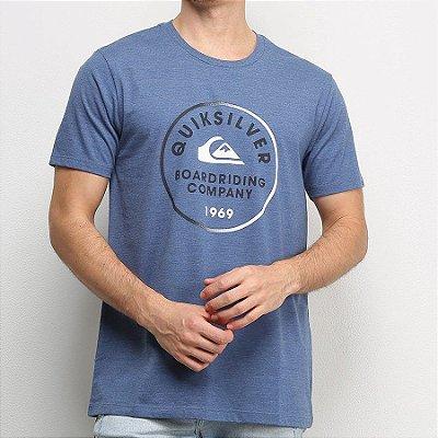 Camiseta Quiksilver Rainbow Circle Azul