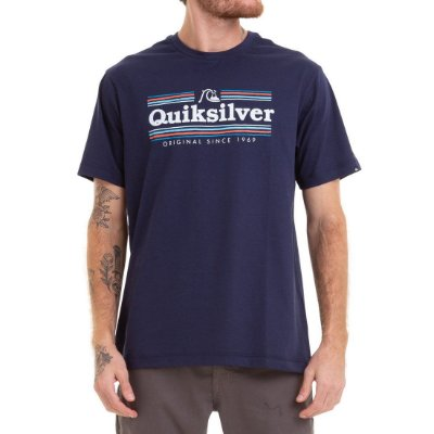 Camiseta Quiksilver Get Buzzy Azul Marinho