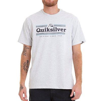 Camiseta Quiksilver Get Buzzy Bege