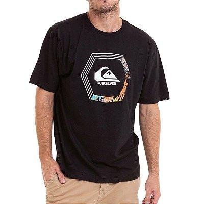 Camiseta Quiksilver Blade Dream Preta