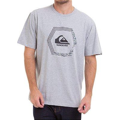 Camiseta Quiksilver Blade Dream Cinza Mescla