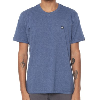 Camiseta Quiksilver Chest Transfer Color Azul
