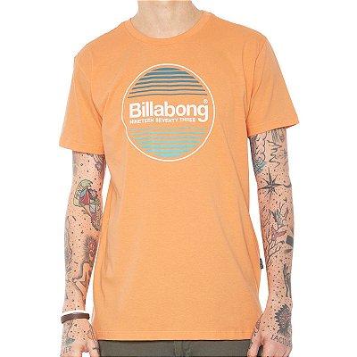 Camiseta Billabong Atlantic Laranja