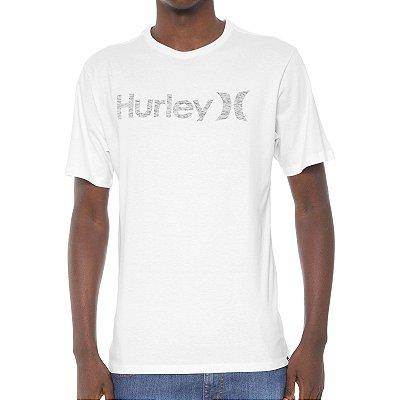 Camiseta Hurley Silk O&O Push Throught Branca