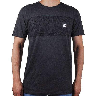 Camiseta Hang Loose Silk Cave Mescla Preta