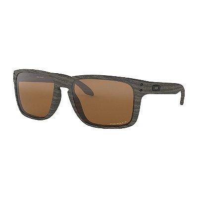 Óculos de Sol Oakley Holbrook XL Woodgrain W/ Prizm Tungsten Polarized