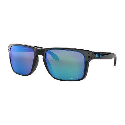 Óculos de Sol Oakley Holbrook XL Polished Black W/ Prizm Sapphire