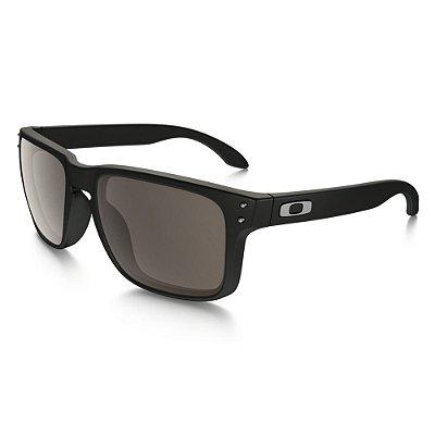 Óculos de Sol Oakley Holbrook Matte Black W/ Warm Grey