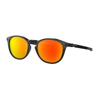 Óculos de Sol Oakley Pitchman R Polished Black W/ Prizm Ruby Polarized