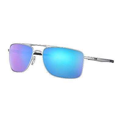 Óculos de Sol Oakley Gauge 8 Matte Lead W/ Prizm Sapphire