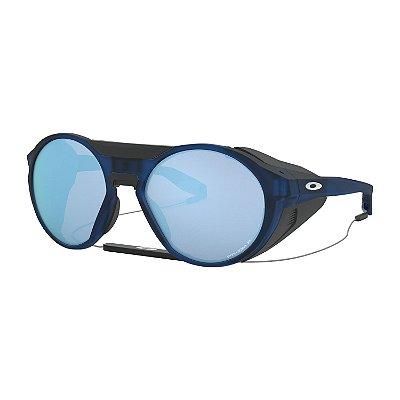 Óculos de Sol Oakley Clifden Matte Translucent Blue W/ Prizm Deep Water Polarized