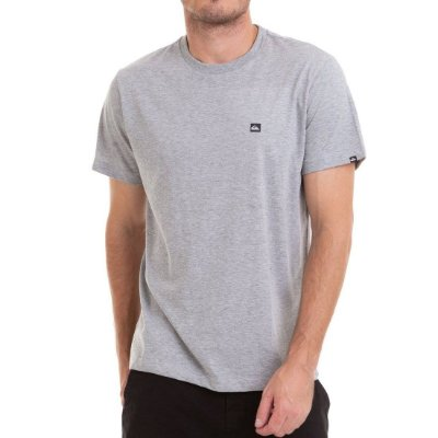 Camiseta Quiksilver Chest Transfer Cinza
