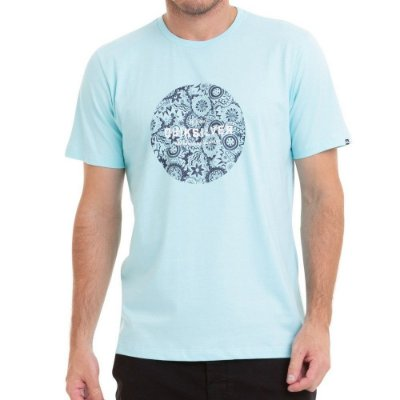 Camiseta Quiksilver Racing Dreams Azul Claro
