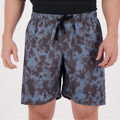 Shorts Volcom Washed Up Tie Dye Azul