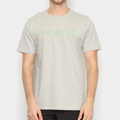 Camiseta Hurley Silk O&O Solid Verde Claro